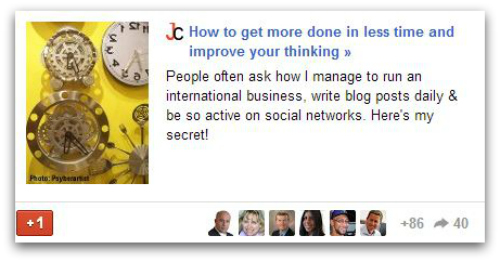 Klout and GooglePlus